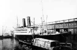 SS Tuscania - the ship that Henry J. Doyle traveled to New York, USA in 1915. Ellis Island, Miners of Mourne, Butte, Montana, mining, mines, genealogy.
